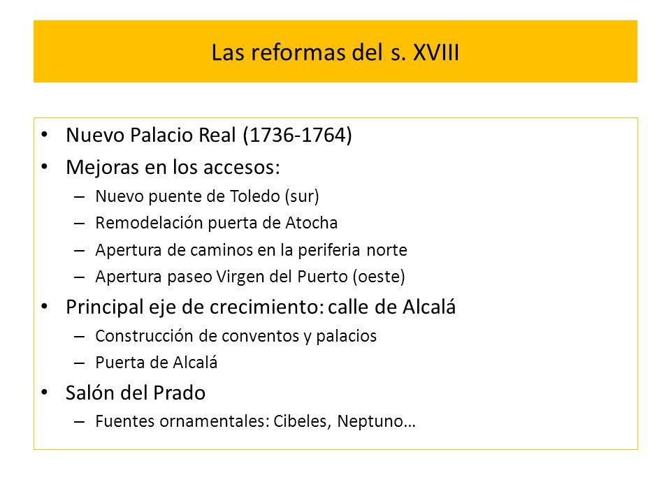 Las reformas del s. XVIII