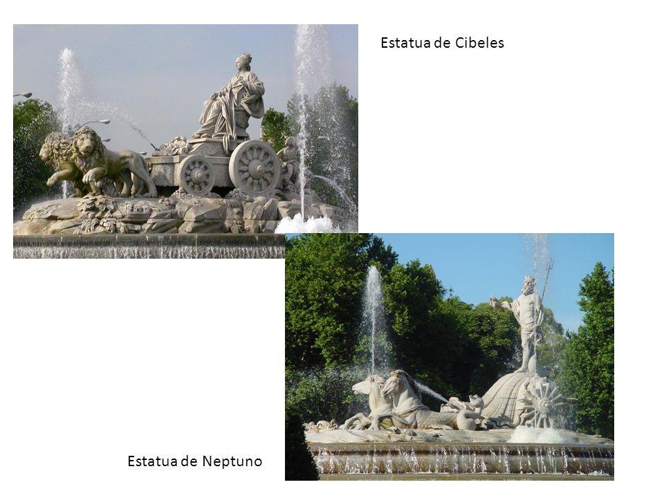 Estatua de Cibeles Estatua de Neptuno