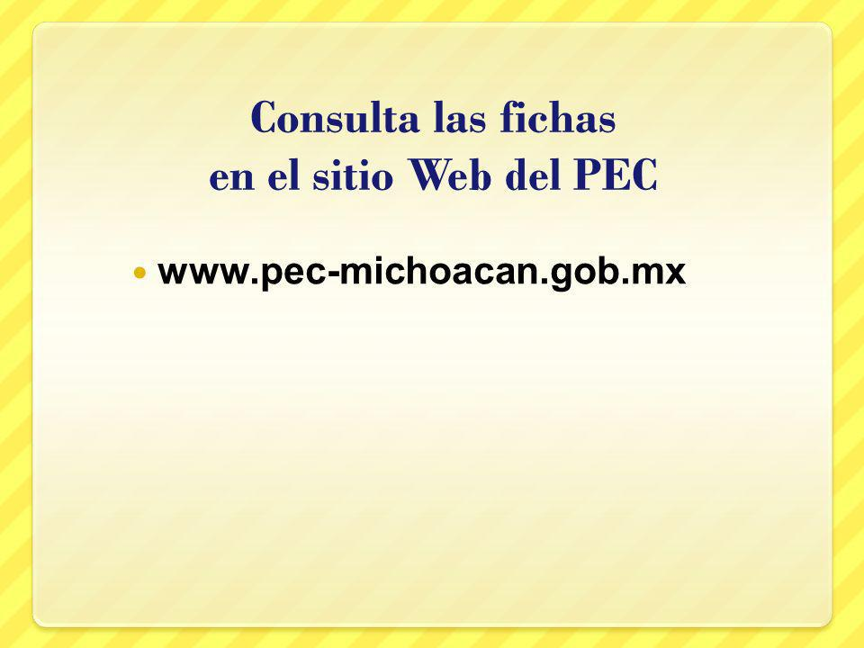 Consulta las fichas en el sitio Web del PEC