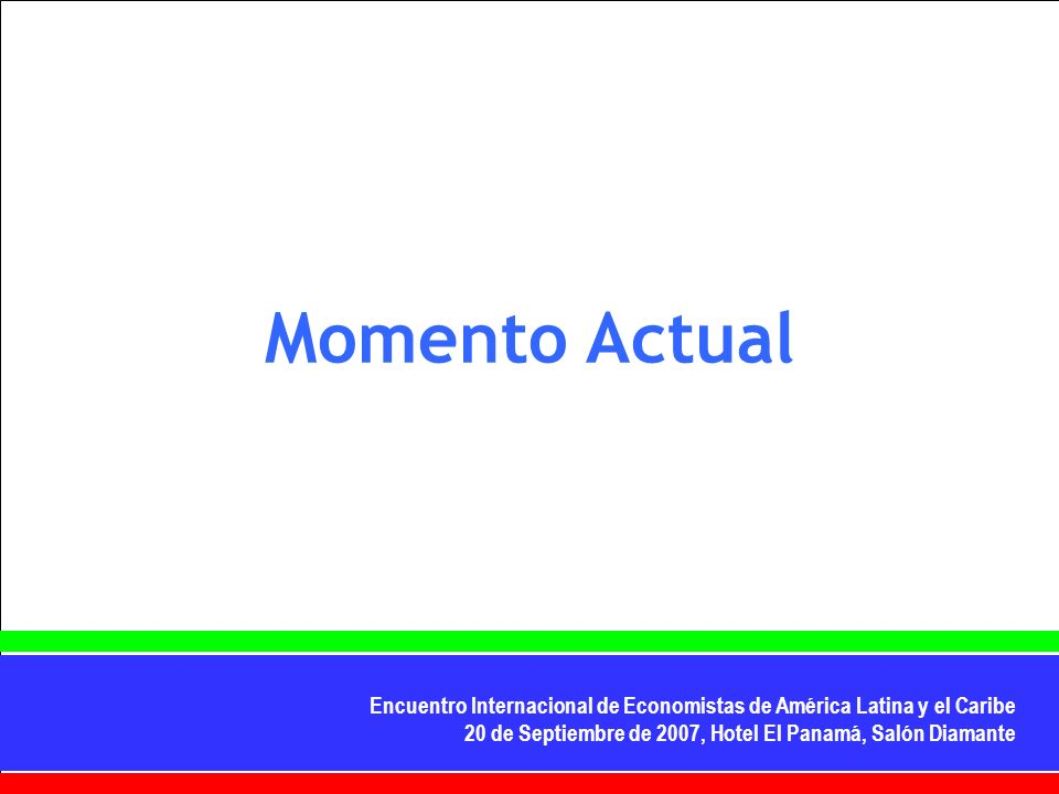 Momento Actual