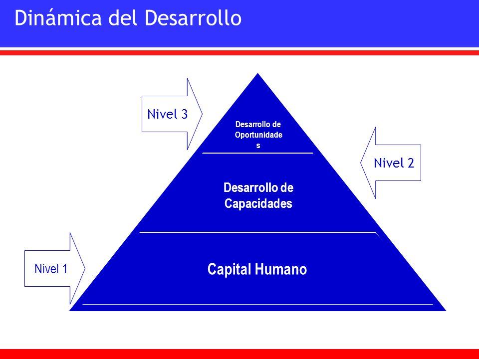 Desarrollo de Oportunidades Desarrollo de Capacidades