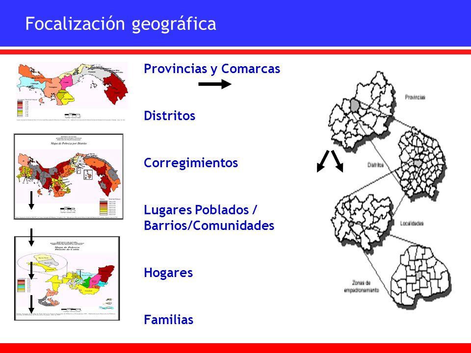 Focalización geográfica