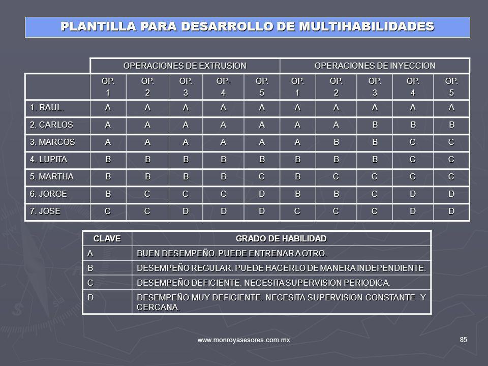 PLANTILLA PARA DESARROLLO DE MULTIHABILIDADES