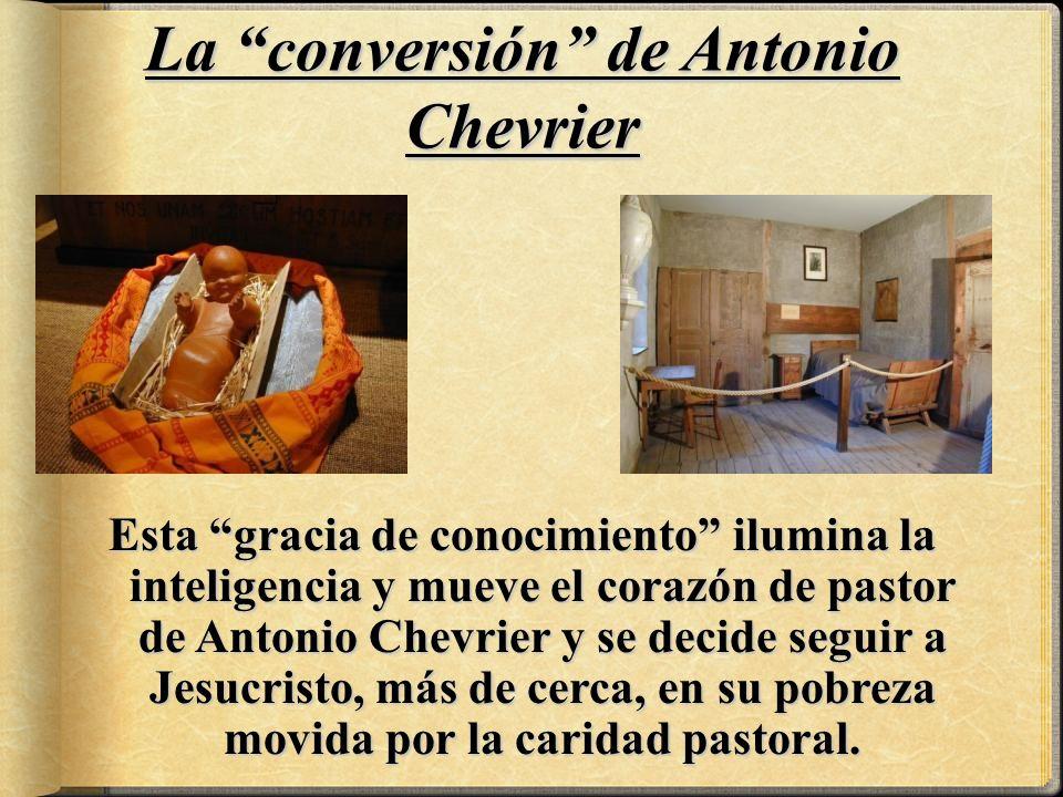 La conversión de Antonio Chevrier