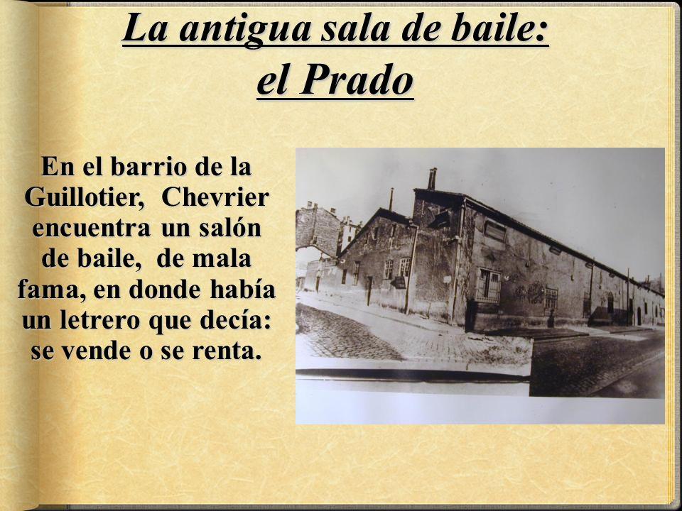 La antigua sala de baile: