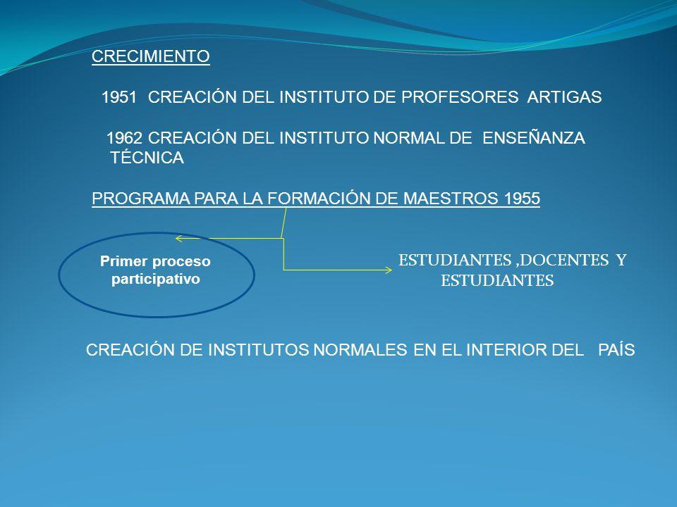 Primer proceso participativo