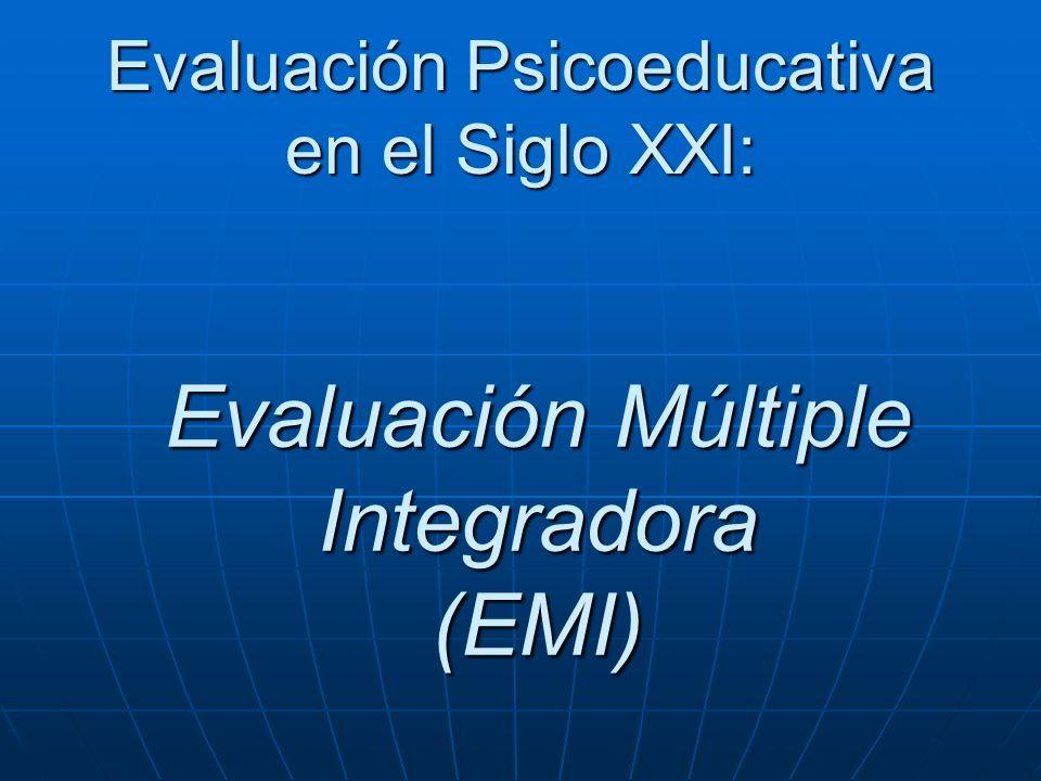 Evaluación Múltiple Integradora (EMI)