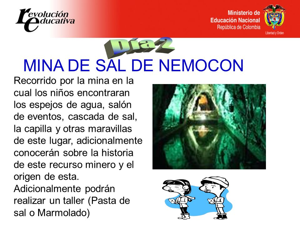 MINA DE SAL DE NEMOCON Día 2