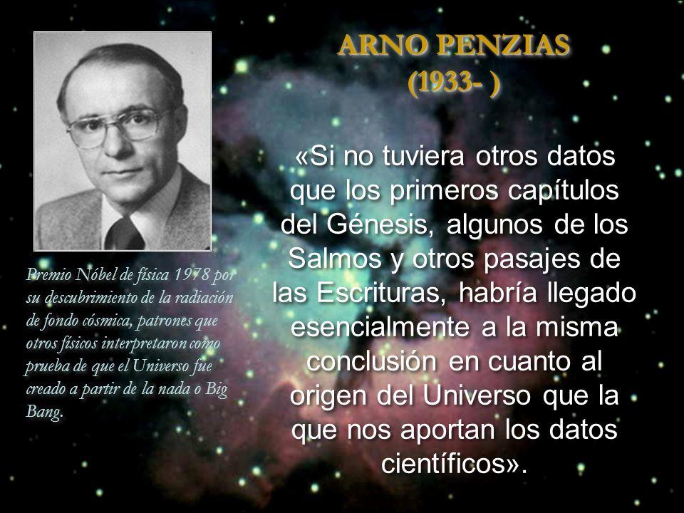 ARNO PENZIAS (1933- )