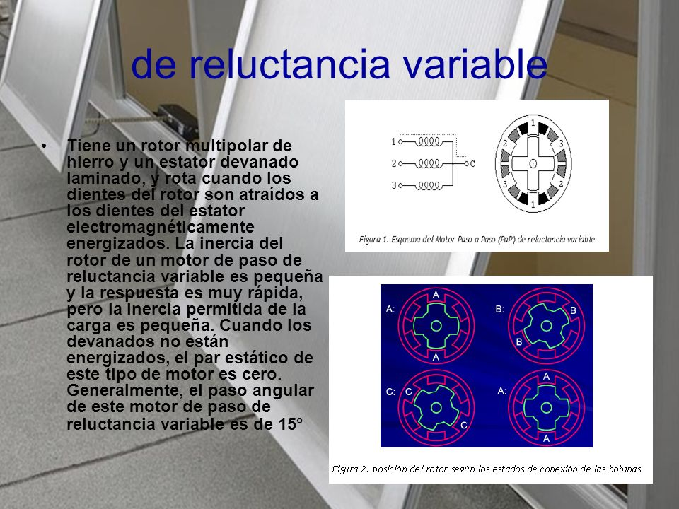 de reluctancia variable