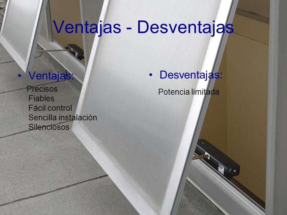 Ventajas - Desventajas