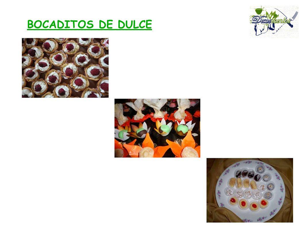 BOCADITOS DE DULCE