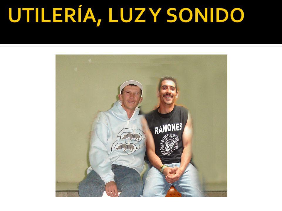 UTILERÍA, LUZ Y SONIDO