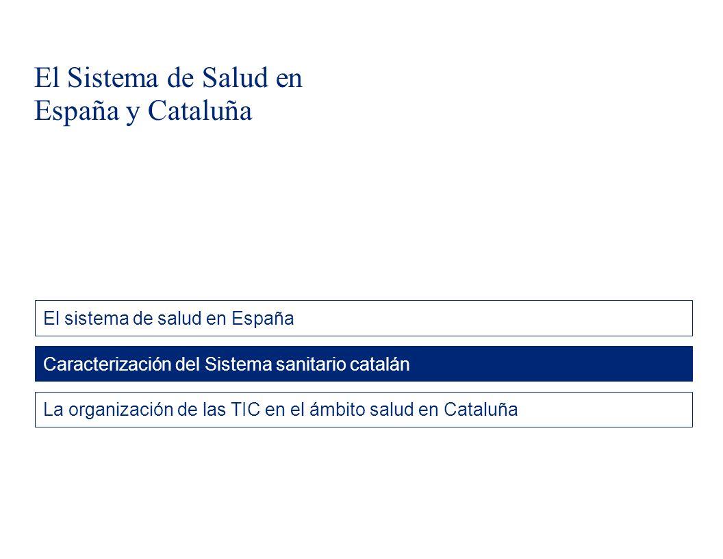 El Sistema de Salud en España y Cataluña