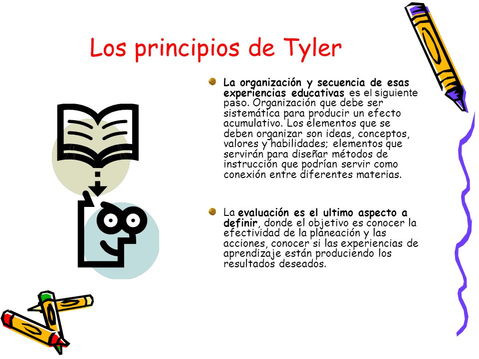 Los principios de Tyler