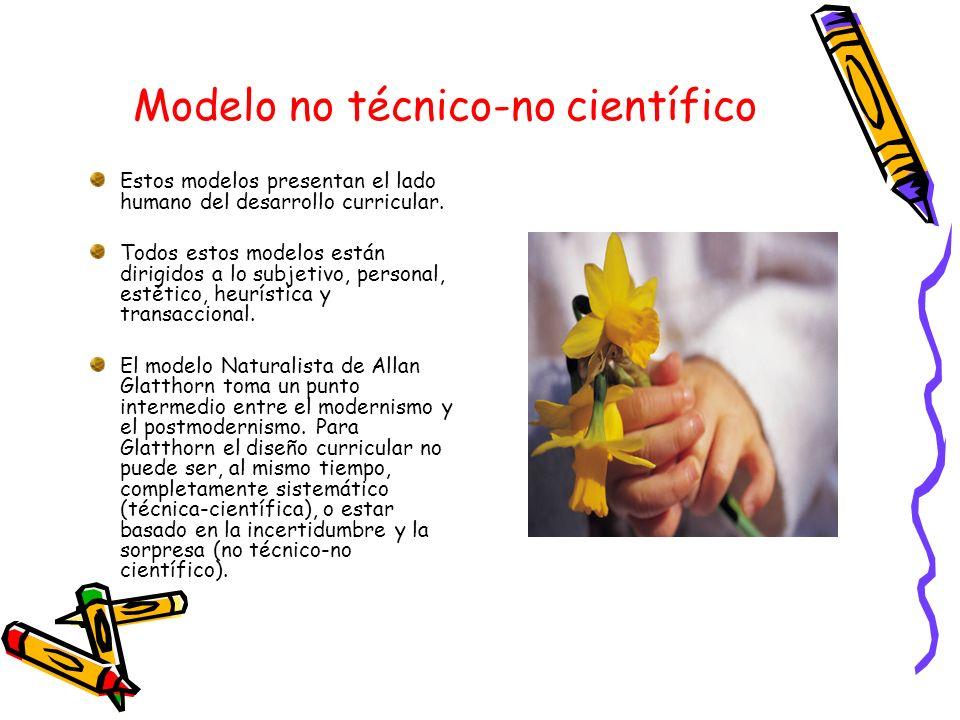 Modelo no técnico-no científico