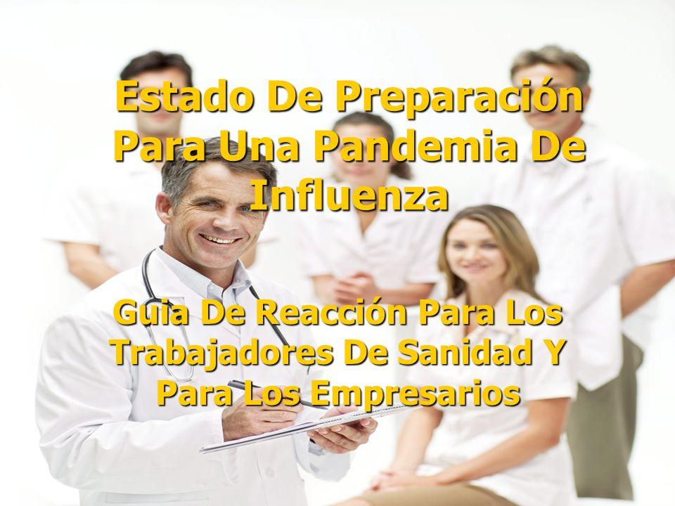 Estado De Preparación Para Una Pandemia De Influenza