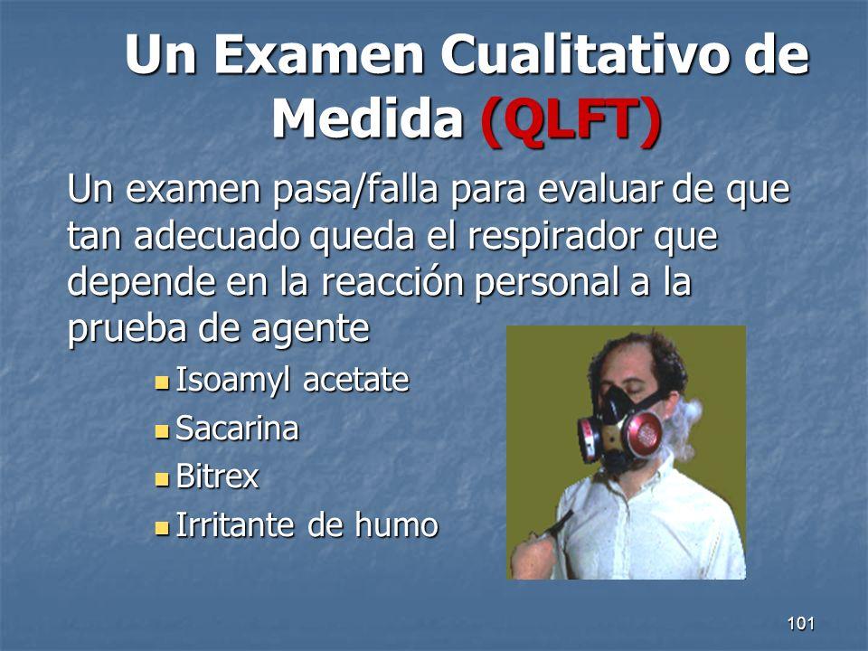 Un Examen Cualitativo de Medida (QLFT)