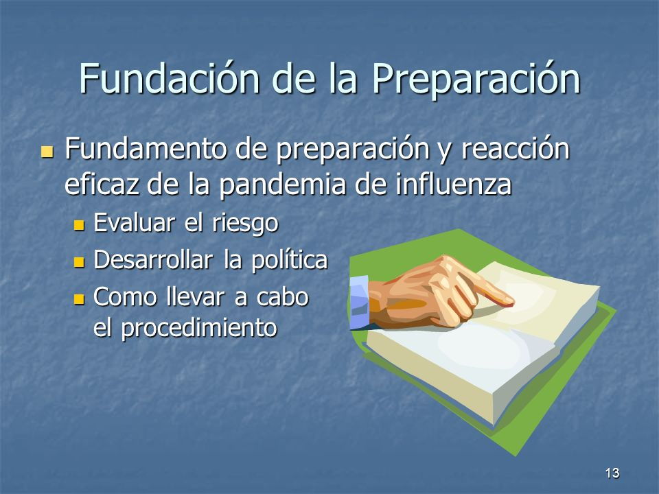 Fundación de la Preparación