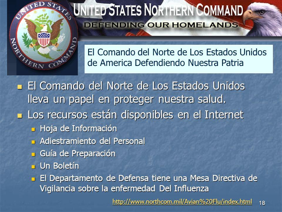 North America El Comando del Norte de Los Estados Unidos de America Defendiendo Nuestra Patria.
