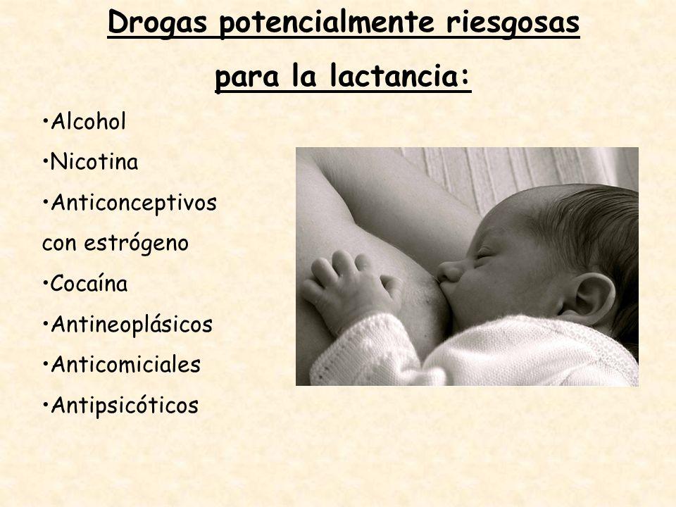 Drogas potencialmente riesgosas