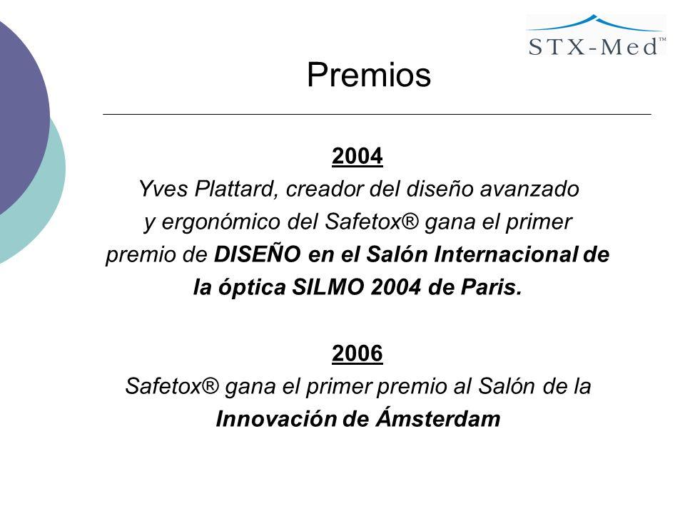 la óptica SILMO 2004 de Paris. Innovación de Ámsterdam