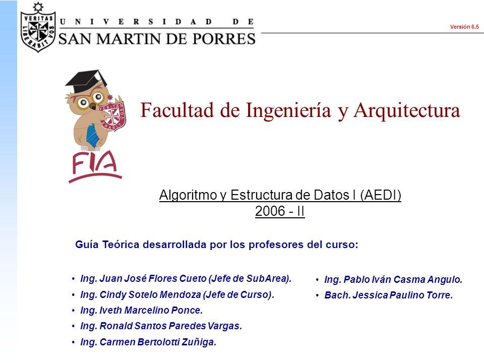 Algoritmo y Estructura de Datos I (AEDI)