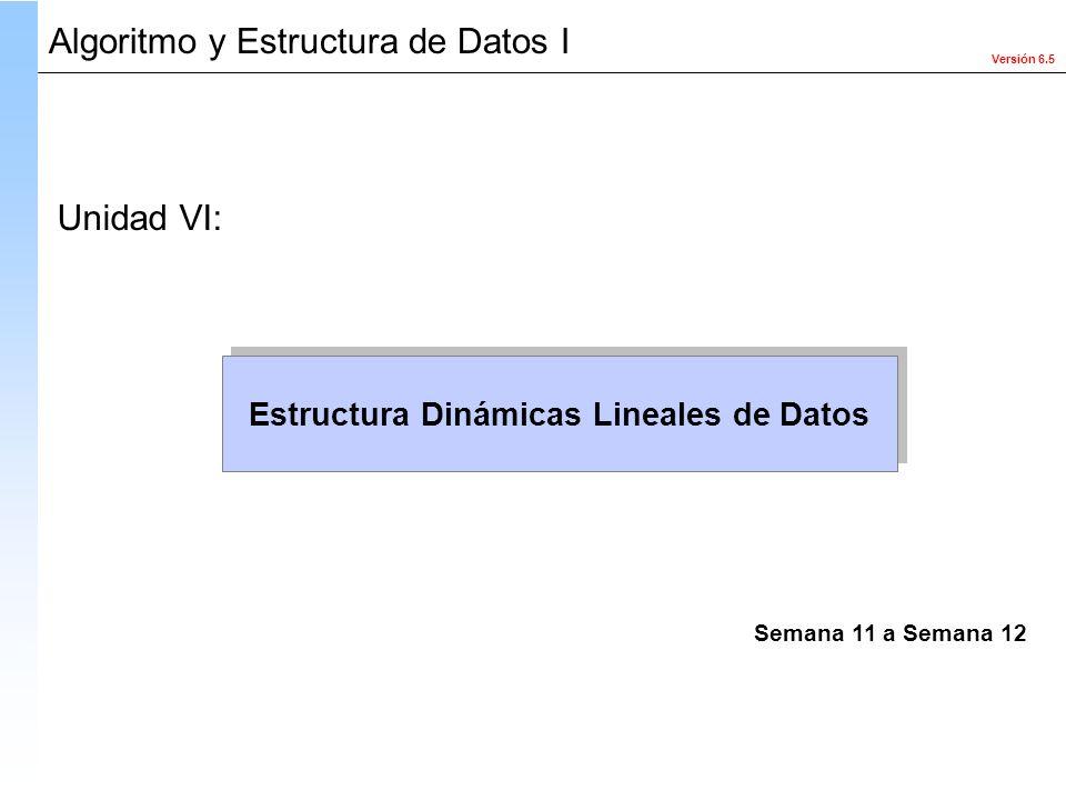 Estructura Dinámicas Lineales de Datos