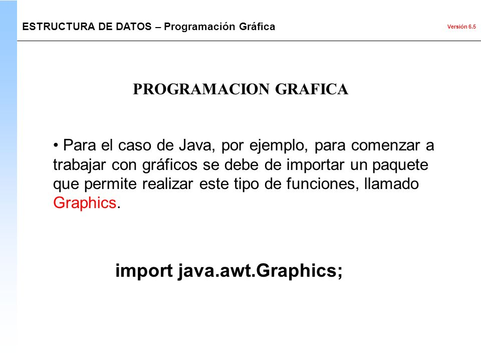 import java.awt.Graphics;