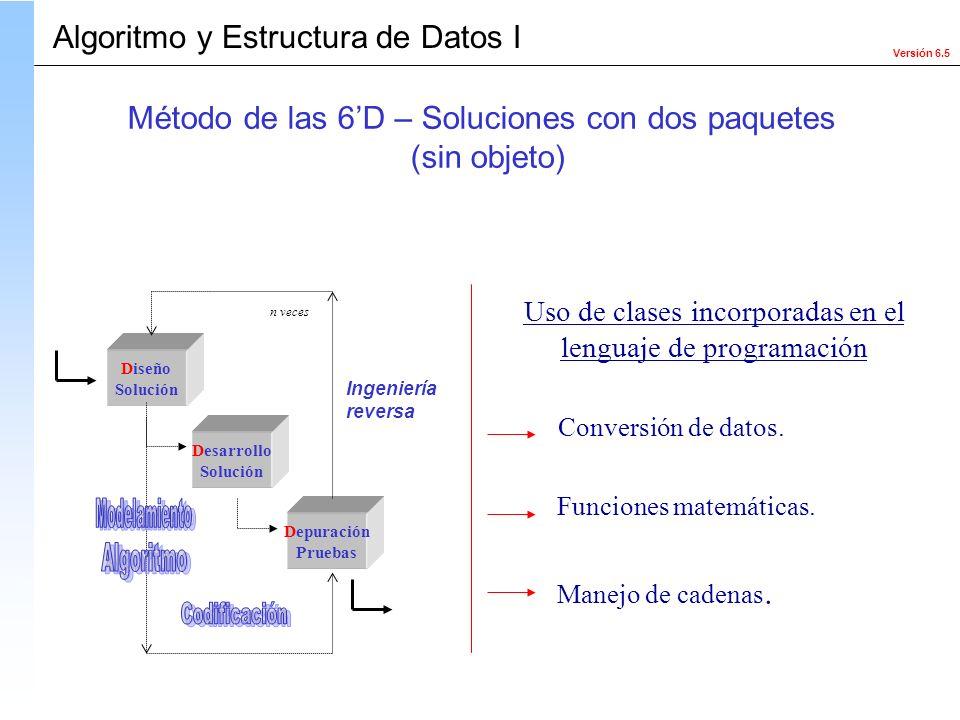 Algoritmo y Estructura de Datos I