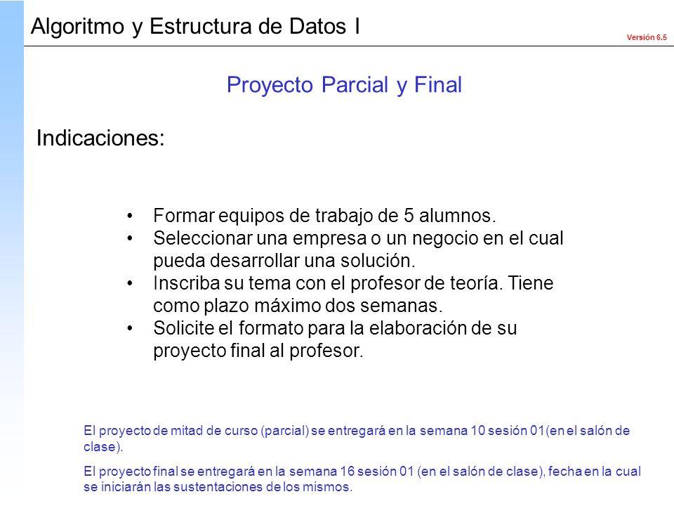 Proyecto Parcial y Final