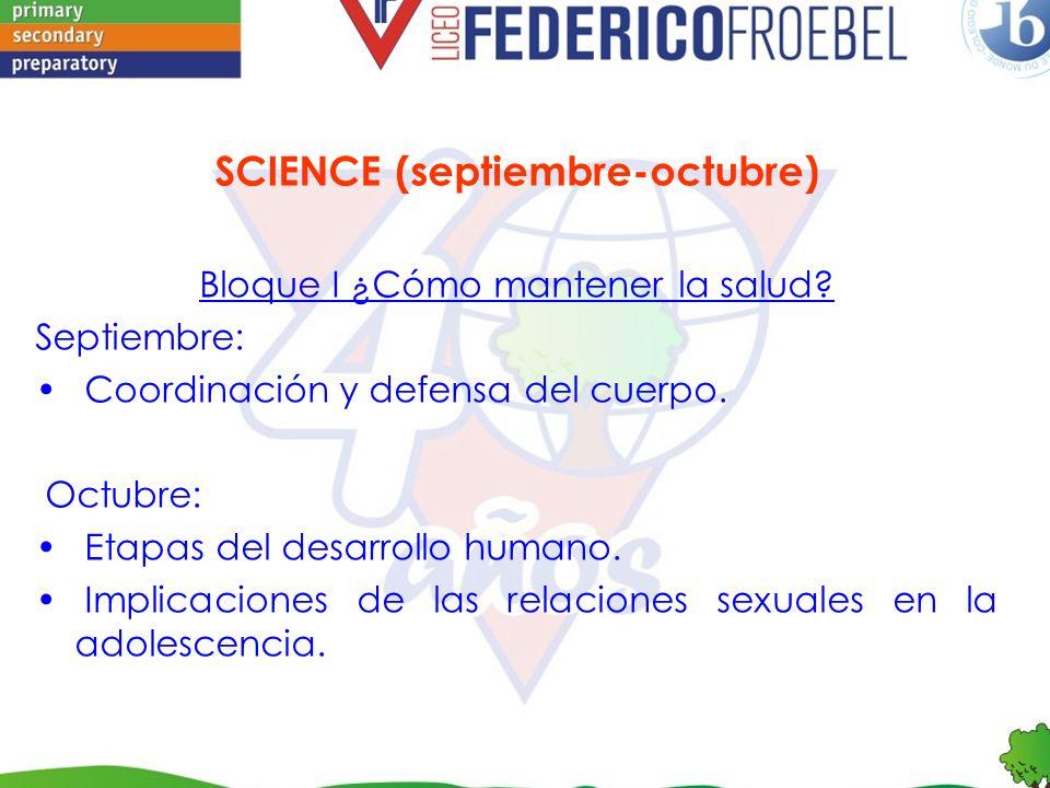 SCIENCE (septiembre-octubre)