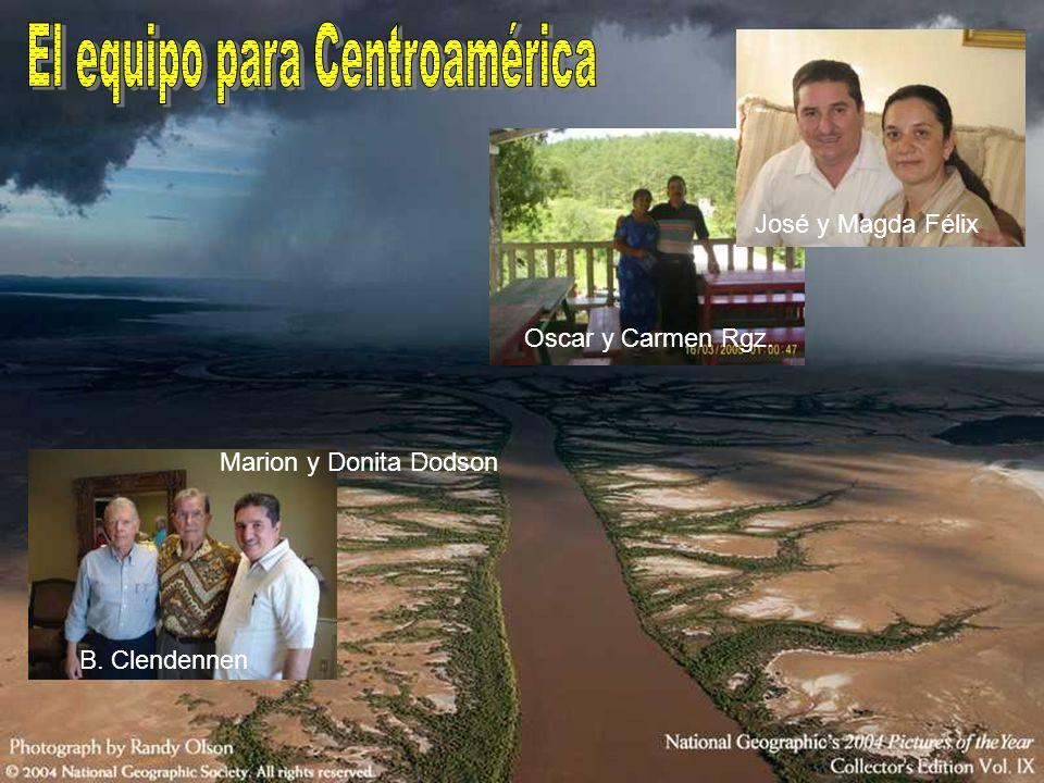 El equipo para Centroamérica