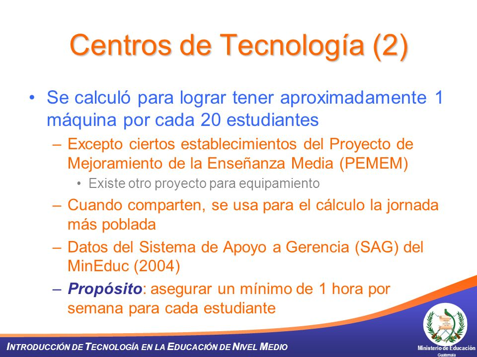 Centros de Tecnología (2)
