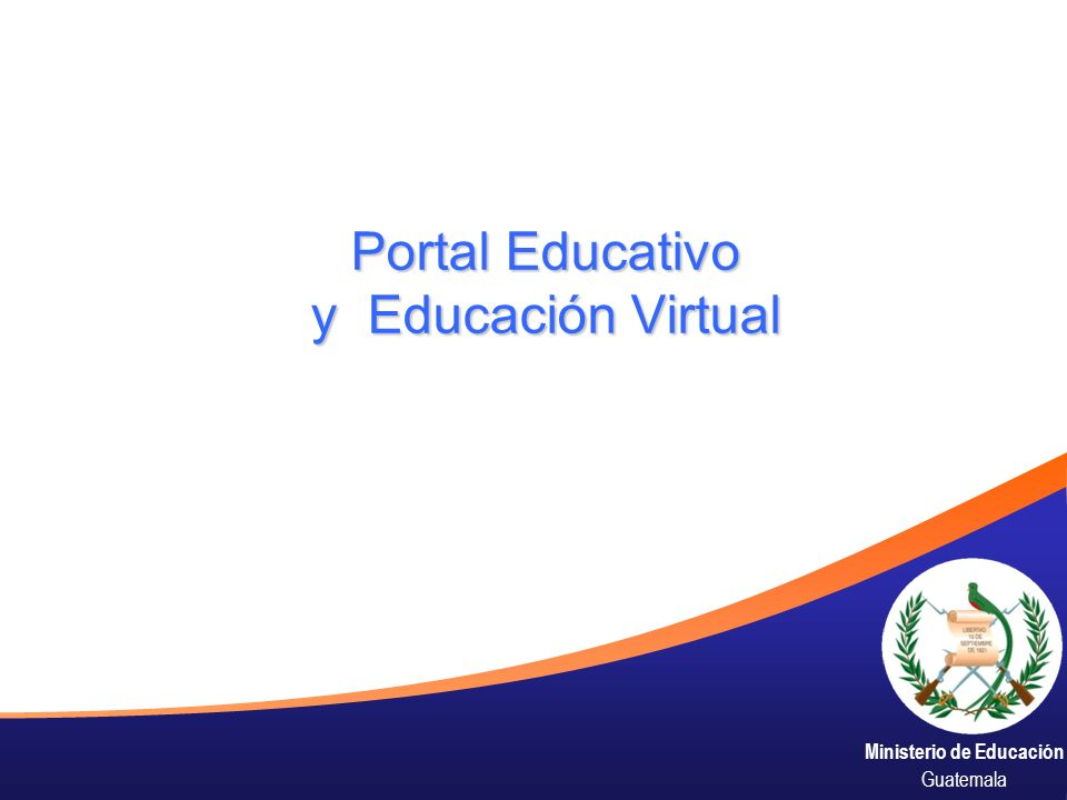 Portal Educativo y Educación Virtual