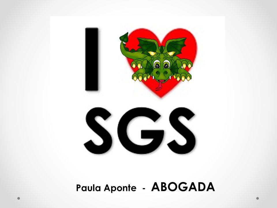 Paula Aponte - ABOGADA