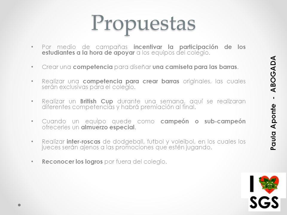 Propuestas Paula Aponte - ABOGADA