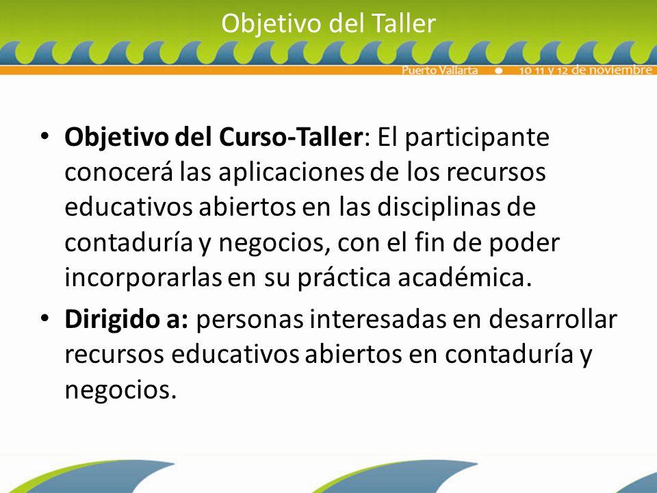 Objetivo del Taller