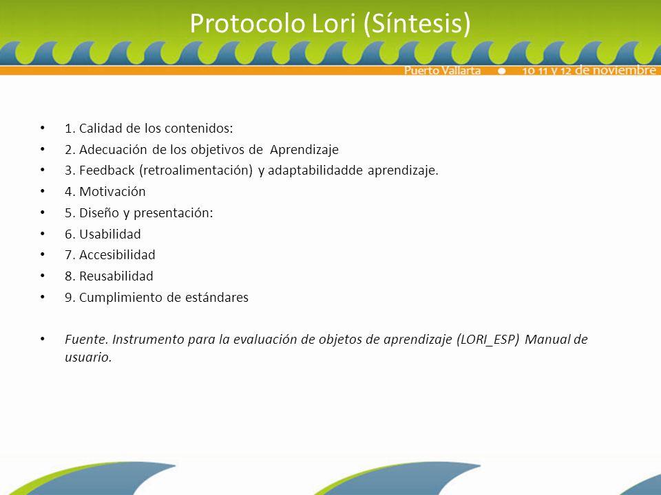 Protocolo Lori (Síntesis)