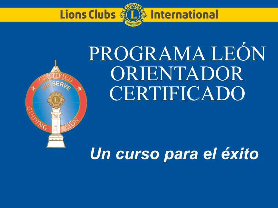 PROGRAMA LEÓN ORIENTADOR CERTIFICADO
