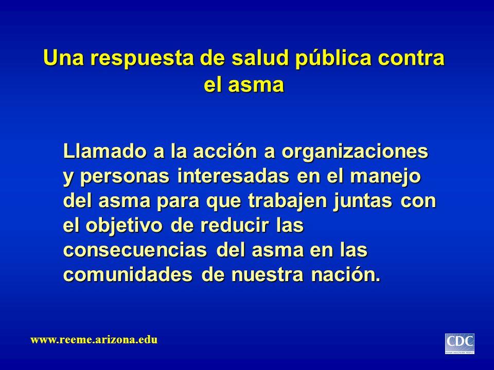 Una respuesta de salud pública contra el asma