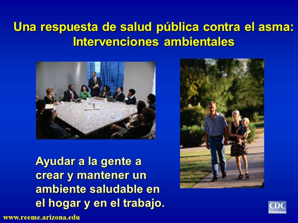 Una respuesta de salud pública contra el asma: Intervenciones ambientales