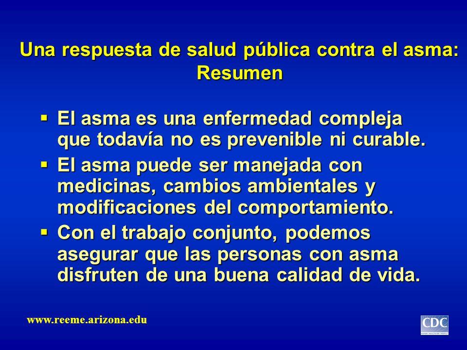 Una respuesta de salud pública contra el asma: Resumen