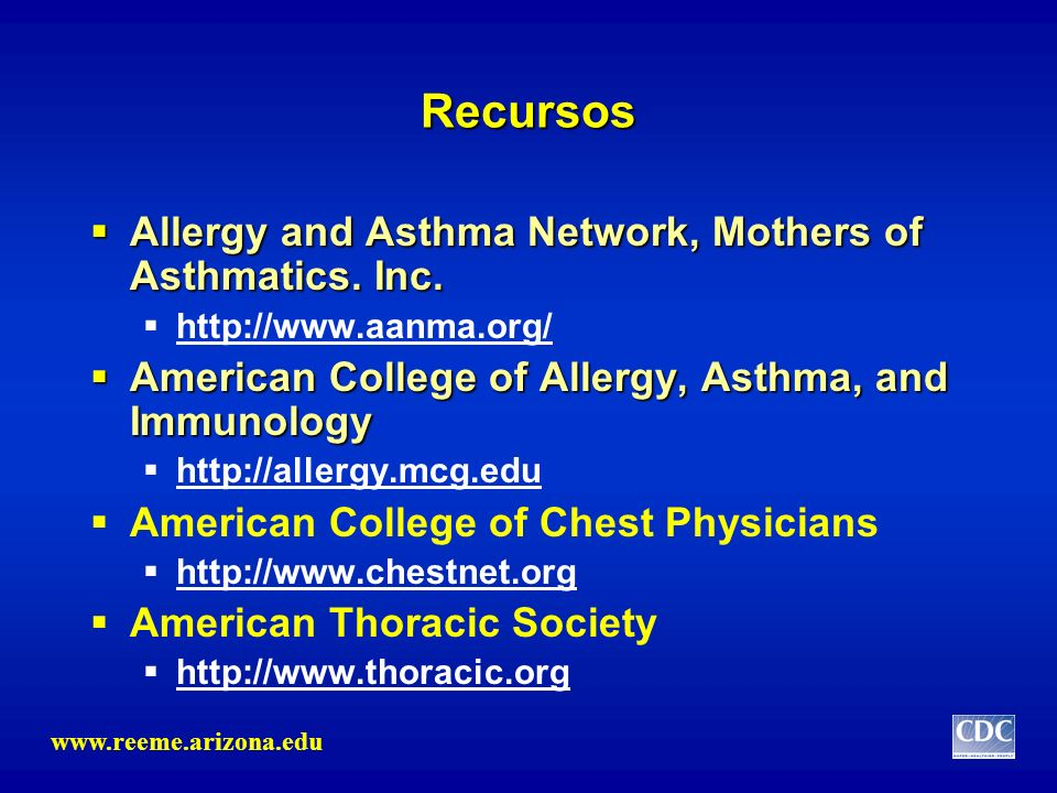Recursos Allergy and Asthma Network, Mothers of Asthmatics. Inc.