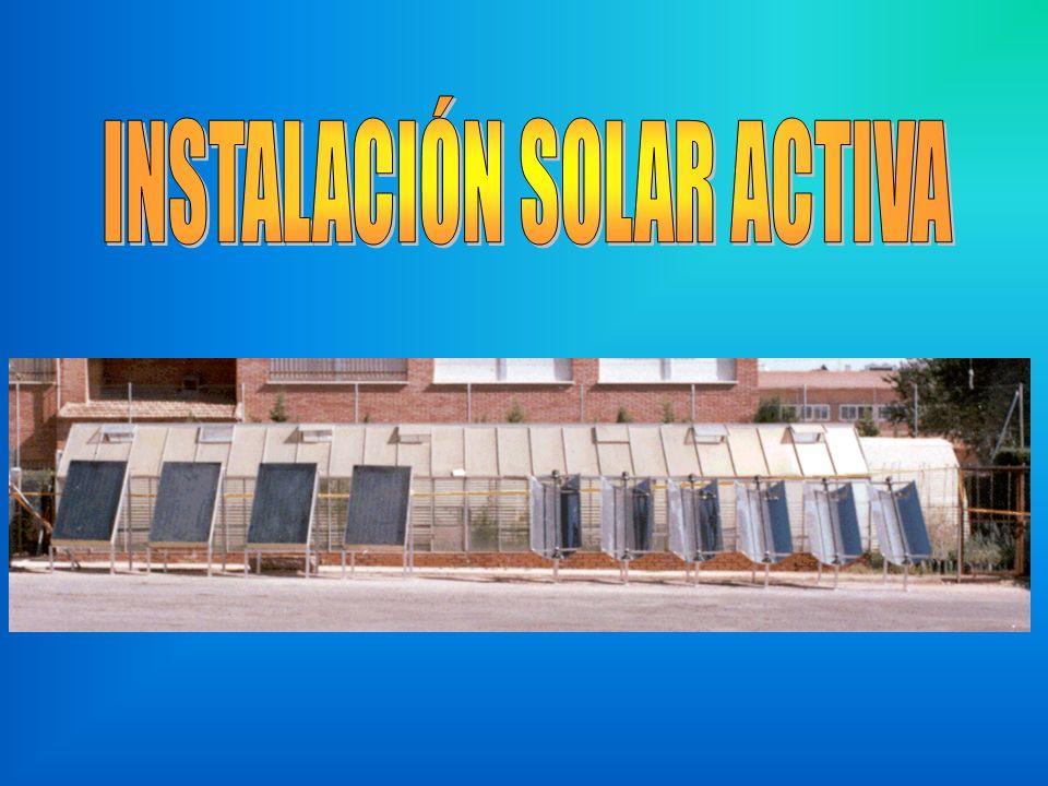 INSTALACIÓN SOLAR ACTIVA