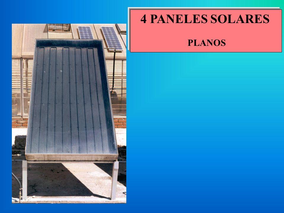 4 PANELES SOLARES PLANOS