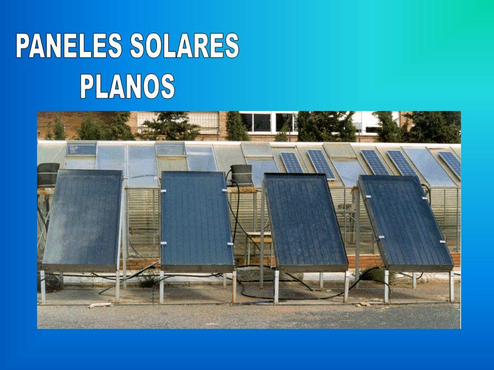 PANELES SOLARES PLANOS