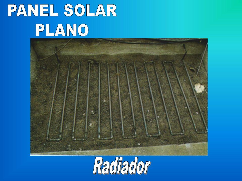 PANEL SOLAR PLANO Radiador