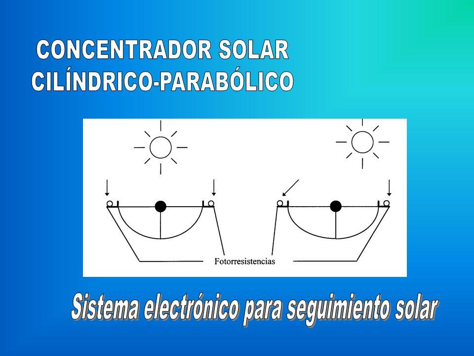 Sistema electrónico para seguimiento solar