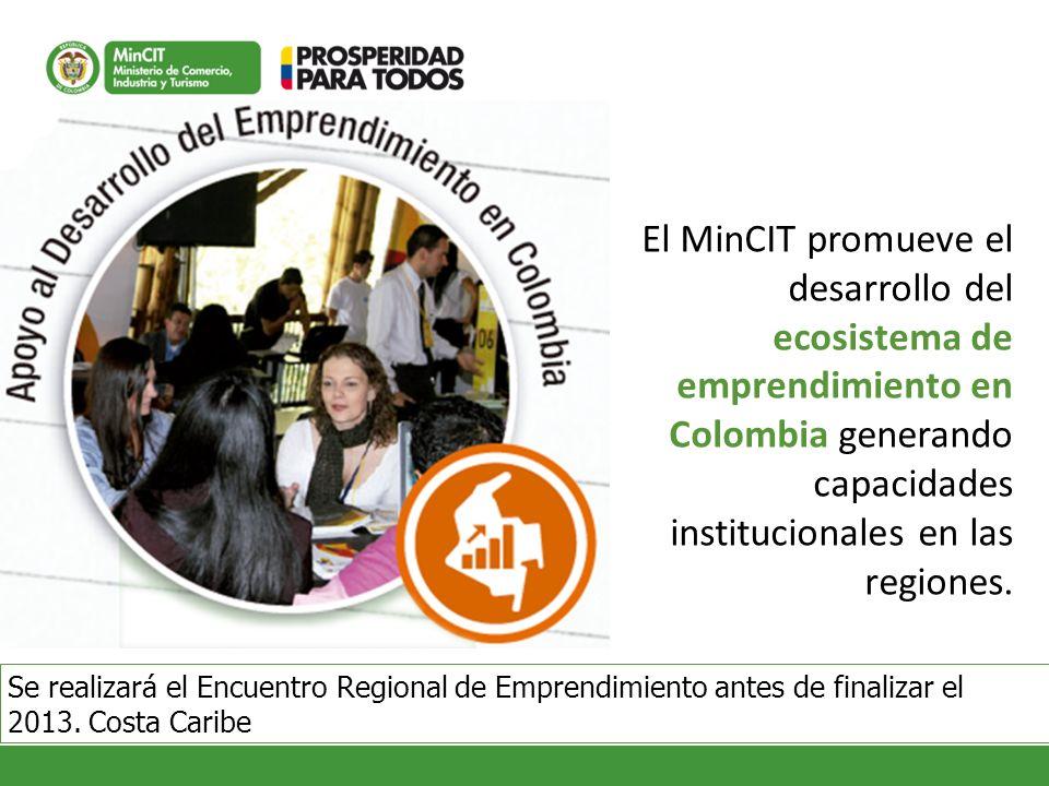 El MinCIT promueve el desarrollo del ecosistema de emprendimiento en
